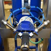 Front view: Pinch valves in filling plants and for dosing technology