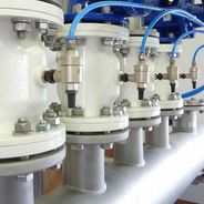 Pinch valves from AKO used as control valves in sewage treatment plants