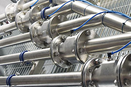 Food producers rely on hygienic, sceptic and sterile pinch valves