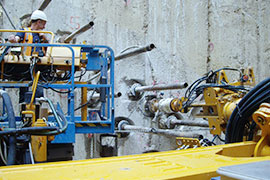 Companies in the mining and underground construction sector rely on robust pinch valves