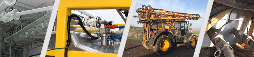 Pinch valves from AKO are used for a broad range of applications in farming and agricultural technology