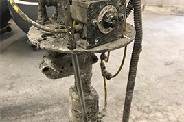 Pinch valves from AKO control cement slurry and glass-fibre reinforced concrete
