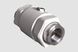 VM020.03X.50.30LA pinch valve used as a control valve in the production of metal detectors