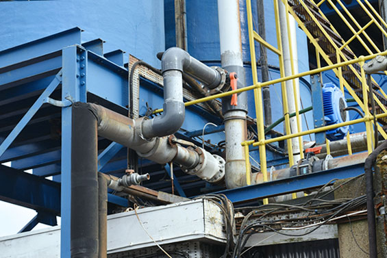 Pinch valves from AKO control the transport of acidic water in steel cable production
