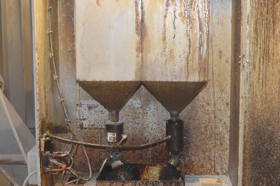 VMP pinch valves control the supply of additives for ready-mixed concrete