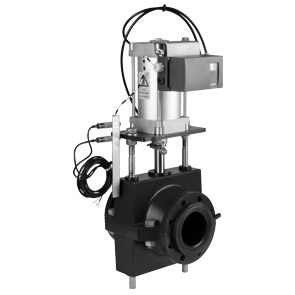 RV pinch valve, pneumatically actuated