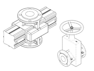 Mechanical Pinch Valves, OV series