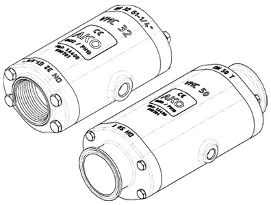 Air operated Pinch Valves, VMC series